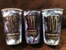 Rare 2008 Monster Energy Black Ice Slurpee cup 07-11 COMPLETE SET