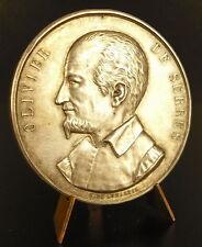 Médaille argent sc H Delongueil Olivier de Serres Indre et Loire silver Medal