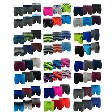 10-20er Pack Herren Boxershorts Microfaser Retro Unterwäsche Unterhose Seamless