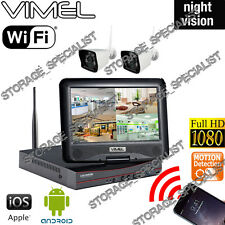 Alarm Home Security System IP Cameras House Farm Night Vision Anti Theft Vandal