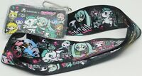 Tokidoki Space Unicorno Donuts Cat Lanyard Neckstrap ID Holder Hatsune Miku New