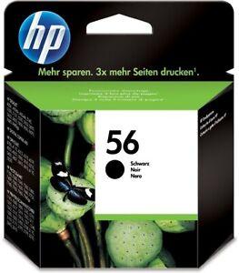Original HP Nr. 56 Tinte schwarz Deskjet OfficeJet C6656AE Angebot Neu!