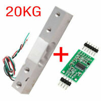 20KG Scale Load Cell Weight Weighing Sensor + HX711 Weighing Sensors AD Module