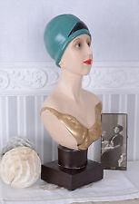 Frauenkopf mit Turban Büste Art Deco Schmuckbüste Schaufensterkopf