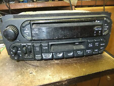 02-09 CHRYSLER PT CRUISER RADIO CD CASSETTE AUDIO PLAYER RECEIVER P56038555AM