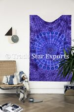 Indian Tie Dye Mandala Tapestry Hippie Wall Art Twin Boho Bedding Beach Blanket