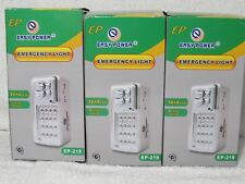 3x Emergency Automatic on Power outage LED light lamp Storms, Hurricane NEW LOT