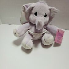 Precious Momen 00004000 ts Tender Tails 2000 Baby Elephant Stuffed Plush Toy With Tags