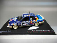 FORD SIERRA RS COSWORTH 4X4 RALLY MONTE CARLO 1991 DELECOUR ALTAYA IXO 1/43