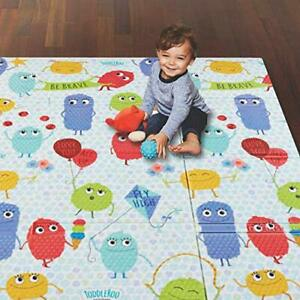 """Toddleroo by North States 71"""" x 71"""" Toddleroo Friends Play Mat - Designed to ..."""