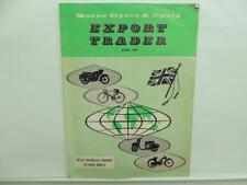 June 1963 Motorcycle & Cycle Export Trader Norton Atlas BSA Lucas Triumph L12039