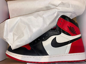 New Nike Air Jordan 1 High Bred Toe Size 13 DS W/ Receipt 555088-610 Free Ship