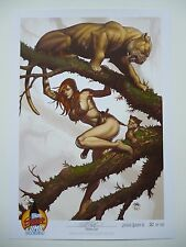 LSCC Jungle Queen 3 print by Frank Cho