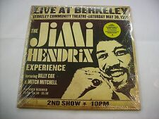 JIMI HENDRIX - LIVE AT BERKELEY - 2LP VINYL NEW SEALED 2003