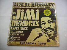 JIMI HENDRIX - LIVE AT BERKELEY - 2LP VINYL NEW SEALED 2003