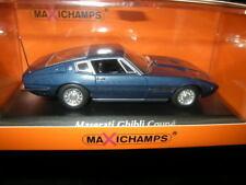 1:43 MaXichamps Maserati Ghibli Coupe 1969 blau/blue Nr. 940123321 OVP