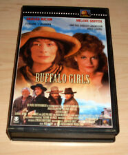 VHS Film - Buffalo Girls - Melanie Griffith - Western - Videokassette