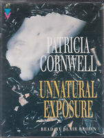 Unnatural Exposure Patricia Cornwell 4 Cassette Audio Book Scarpetta Thriller