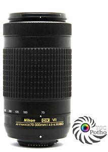 NIKON AF-P Nikkor 70-300mm f/4.5-6.3G ED VR Telephoto Zoom Lens Nikon DX APS-C