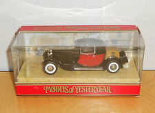 Matchbox MODELS OF YESTERYEAR Y24-1.16 1928 BUGATTI T44