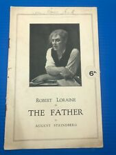 More details for the father savoy theatre magazine programme september 1927 robert loraine