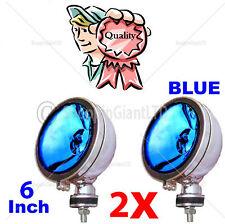 """2 x 6 """"Blue Angel Eye Halógeno H3 Focos Spot Luz De Niebla Para Coche van Scooter"""