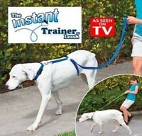 Instant Trainer Dog Leash Trains Dogs 30 Lbs Stop Pulling Dogwalk as seen on TV