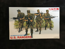 Dragon 3004 US Rangers 1/35 Scale Plastic Model Figures Sealed.   #A17