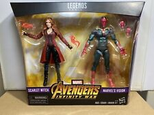 Marvel Legends Scarlet Witch And Vision Infinity War 2 Pack! New!