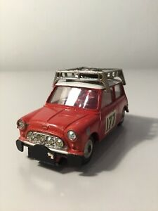 An Original Corgi No 339 Mini Cooper Monte Carlo Car Number 177. Looks Great