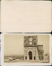 France, Marseille, La Cathédrale Sainte-Marie-Majeure Vintage CDV albumen carte