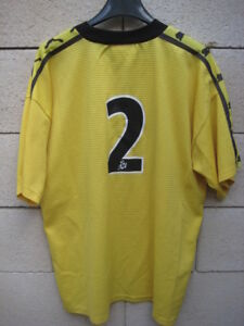 VINTAGE Maillot FC MARTIGUES porté n°2 National Puma worn shirt XL