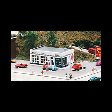 N SCALE: CRAFTON AVENUE SERVICE STATION - CITY CLASSICS KIT #195-401