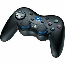 Logitech Cordless Action Controller For PlayStation 2 PS2 Black Very Good 7E