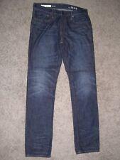 GAP 1969 SKINNY Dark Blue Jeans MENS 32 33 X 34 - EUC