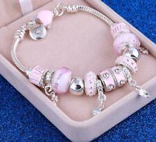 bracelet femme 2019 murano charms fashion christmas gift