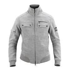 Belstaff $595 Layer Wool Men's Jacket Full-zip Cardigan Italy Pearl Gray 715778