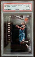 Anthony Davis 2012-2013 Panini Prestige Playmakers Hornets RC Rookie PSA 9