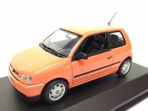 MInichamps Seat Arosa Naranja 1:43 Diecast Coche a escala