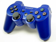 Original Sony PS3 Playstation 3 Dualshock 3 Controller Blau ~7384