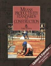 Means Productivity Standards for Construction-ExLibrary