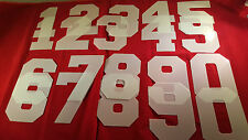 AIRBRUSH SPORTS NUMBERS YOUTH ADULT T SHIRT 20 STENCILS PACKAGE