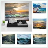 Oil Painting seas and oceans Tapestry Art Wall Hanging Cover Poster