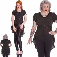 Moongazer Flowing Blouse | Gothic Steampunk Tailcoat with Moon and Stars