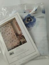 Creative Bath Products Sheer Shower Curtain 70x72 Potpourri open package