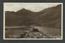 1930s Snowdon From Llyn Llydaw England Rppc Real Picture Postcard