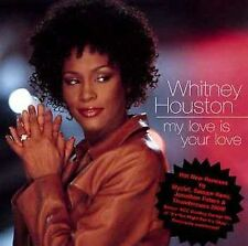 Whitney Houston CD Single My Love Is Your Love [Maxi Single]  FREE SHIPPING