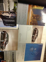 2013 MERCEDES BENZ E CLASS E200 250 300 500 Owners Manual SET W OEM FIRST AID