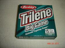 Berkley Trilene Big Game / Lo-Vis Green / 15lb. / 300 Yd. Spool