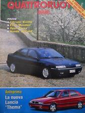 Quattroruote 451 1993  - La nuova Lancia Thema - Citroen Xantia [Q37]